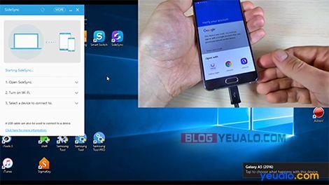 Hướng dẫn cách xóa xác minh tài khoản Google cho các máy Samsung Galaxy 2016