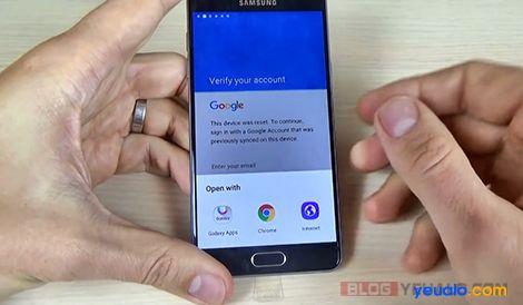 Hướng dẫn cách xóa xác minh tài khoản Google không cần cáp USB OTG 4