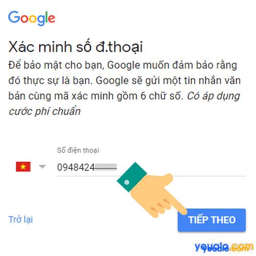 Cách đăng kí Gmail bằng máy tính mới nhất