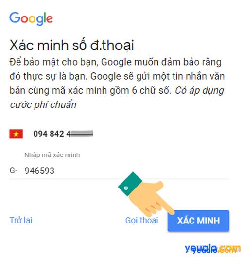 Cách đăng kí Gmail bằng máy tính mới nhất 3