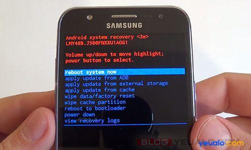 Recovery mode là gì? và cách vào chế độ Recovery trên điện thoại Samsung Galaxy
