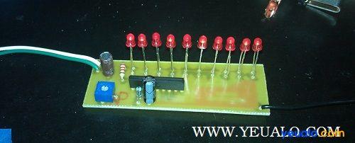Hướng dẫn tự làm mạch đèn LED nháy theo nhạc đơn giản