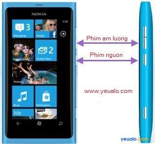 Hướng dẫn Hard reset cho điện thoại Nokia Lumia