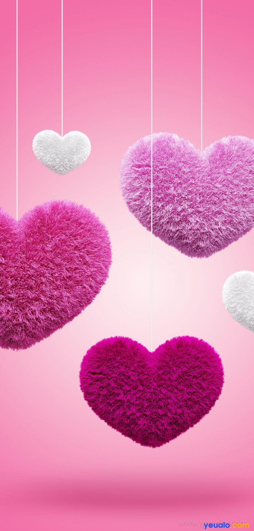 Hình nền điện thoại hình trái tim tình yêu đẹp nhất 11