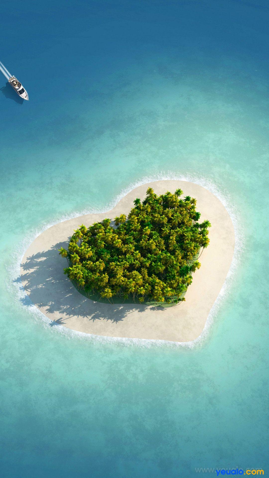 Hình nền điện thoại trái tim dành cho người đang yêu đẹp 14
