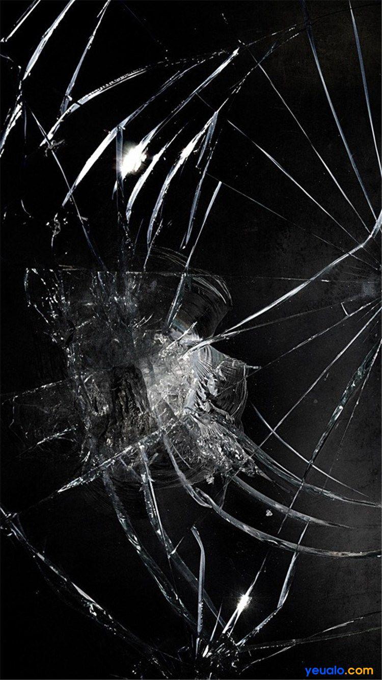 Tải hình nền kính vỡ cho iPhone 12