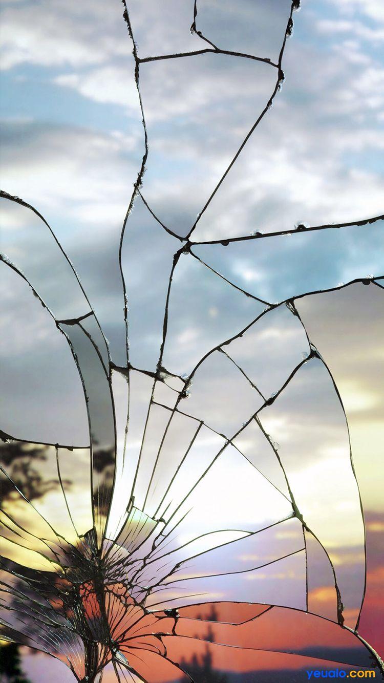 Tải hình nền kính vỡ cho iPhone 22