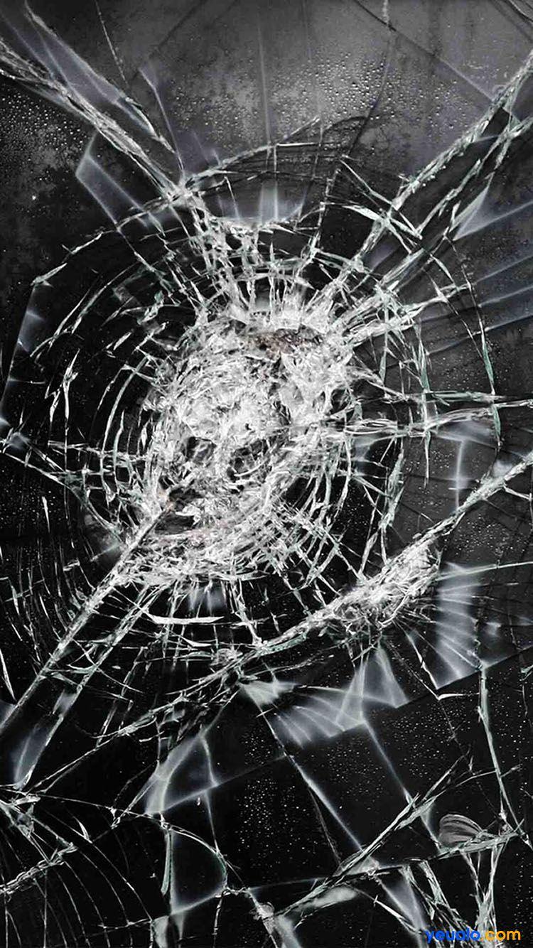 Tải hình nền kính vỡ cho iPhone 23