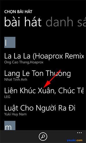 Hướng dẫn cách cài đặt nhạc chuông điện thoại Lumia 2