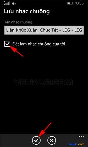 Hướng dẫn cách cài đặt nhạc chuông điện thoại Lumia 4