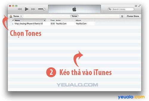 Cách cài đặt nhạc chuông iPhone 6 Remix cho điện thoại iPhone
