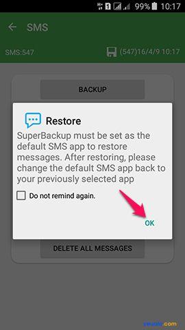 Hướng dẫn cách khôi phục dữ liêu điện thoại Android 3