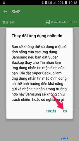 Hướng dẫn cách khôi phục dữ liêu điện thoại Android 4