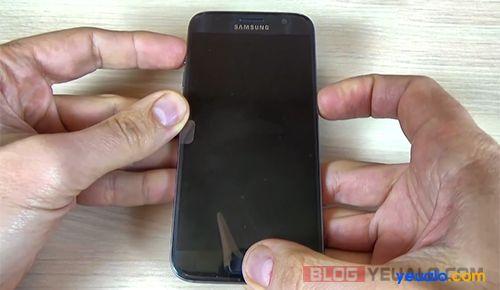 Cách phá mật khẩu khóa màn hình điện thoại Samsung Galaxy 2
