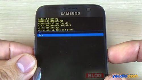 Cách phá mật khẩu khóa màn hình điện thoại Samsung Galaxy 4
