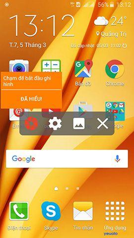 Hướng dẫn cách quay phim màn hình điện thoại Android không cần root 1