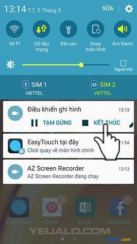 Hướng dẫn cách quay phim màn hình điện thoại Android không cần root 3