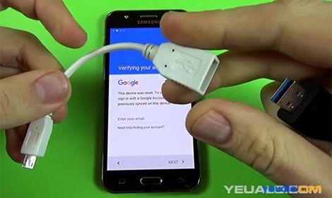 Cáp USB OTG và USB để Xoá Xác Minh Tài Khoản Google điện thoạiXoá Xác Minh Tài Khoản Google điện thoại