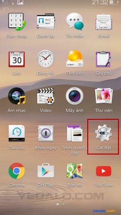 Hướng dẫn cách cài đặt bộ gõ Tiếng Việt cho điện thoại Oppo 2