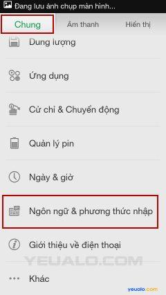 Hướng dẫn cách cài đặt bộ gõ Tiếng Việt cho điện thoại Oppo 3