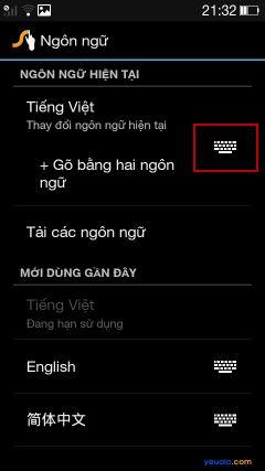 Hướng dẫn cách cài đặt bộ gõ Tiếng Việt cho điện thoại Oppo 6