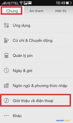 Cách cập nhật hệ điều hành phiên bản mới nhất cho điện thoại OPPO 3
