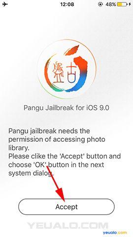 Hướng dẫn jailbreak iOS 9.0 – 9.0.2 trên Windows bằng Pangu9 7