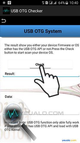 Hướng dẫn cách kiểm tra điện thoại, máy tính bảng có hỗi trợ kết nối OTG hay không 4