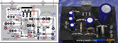 Hướng dẫn làm mạch ampli đơn giản nhất dùng IC TDA2030