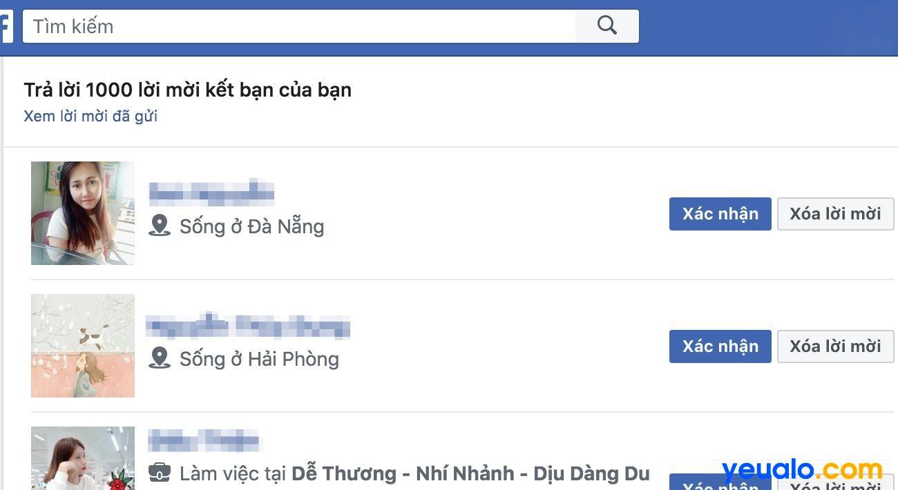Không gửi được lời mời kết bạn trên Facebook và cách khắc phục