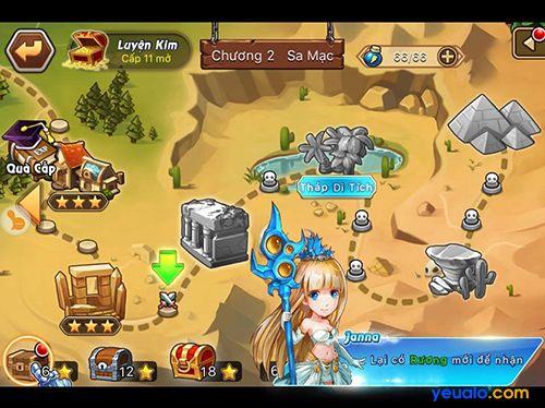 LOL Arena – Game giống với game Liên Minh Thuyền Thoại trên điện thoại 2