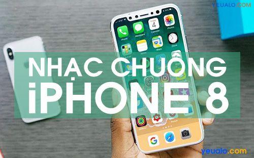 Nhạc chuông tin nhắn iPhone 8
