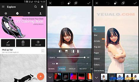 Phần mềm chỉnh ảnh đẹp cho điện thoại 1