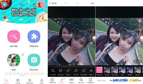 Phần mềm chỉnh ảnh đẹp cho điện thoại 2