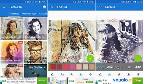 Phần mềm chỉnh ảnh đẹp cho điện thoại 3