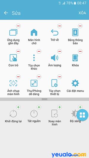 Cách bật nút Home ảo trên Samsung Galaxy 6