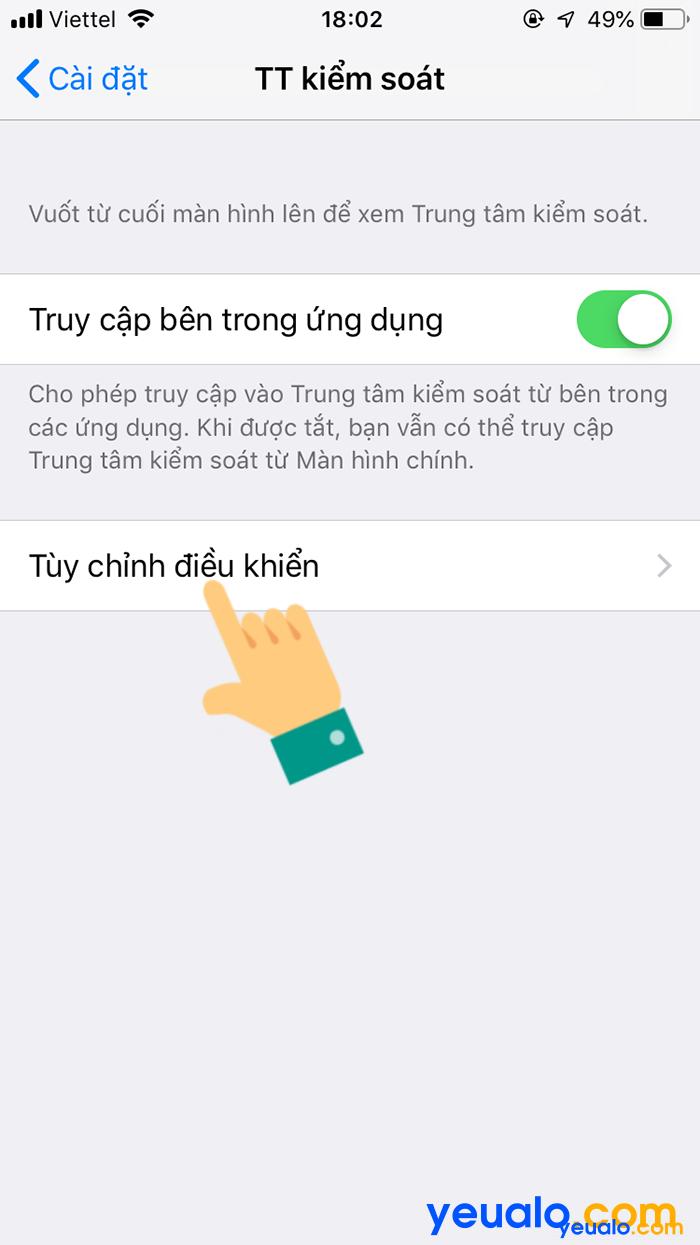 Cách quay màn hình iPhone iOS 12 3