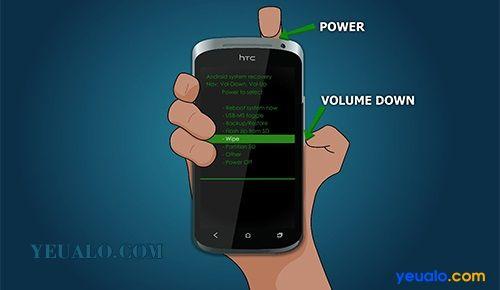 Reset HTC