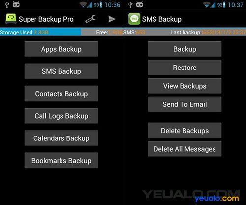 Cách sao lưu, khôi phục danh bạ trên điện thoại Android 2