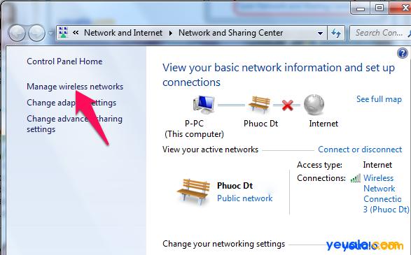 Cách sửa lỗi Wifi bị dấu chấm than vàng 3