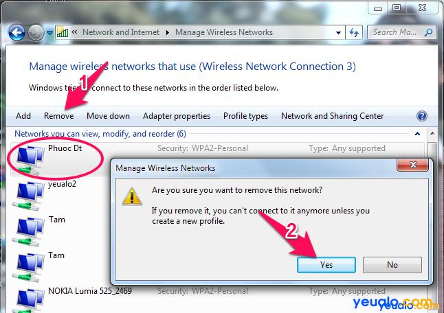 Cách sửa lỗi Wifi bị dấu chấm than vàng 4