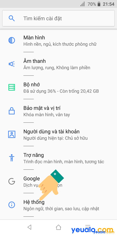 Sửa lỗi không vào được Wifi điện thoại Vsmart 2