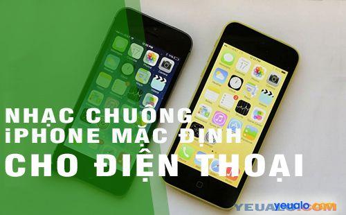 Tải nhạc chuông iPhone