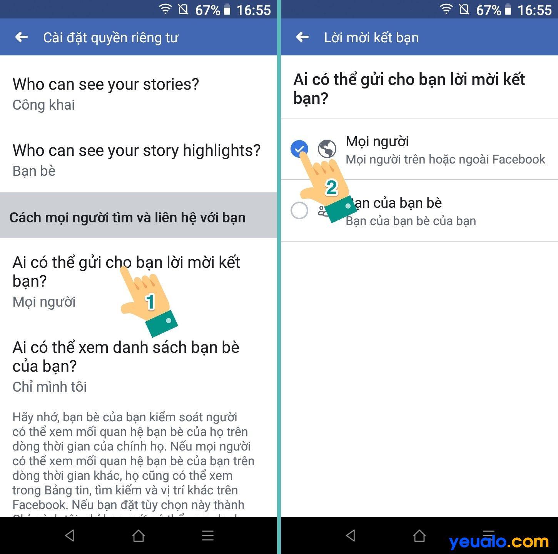 Cách khắc phục tại sao Facebook không có nút kết bạn trên điện thoại