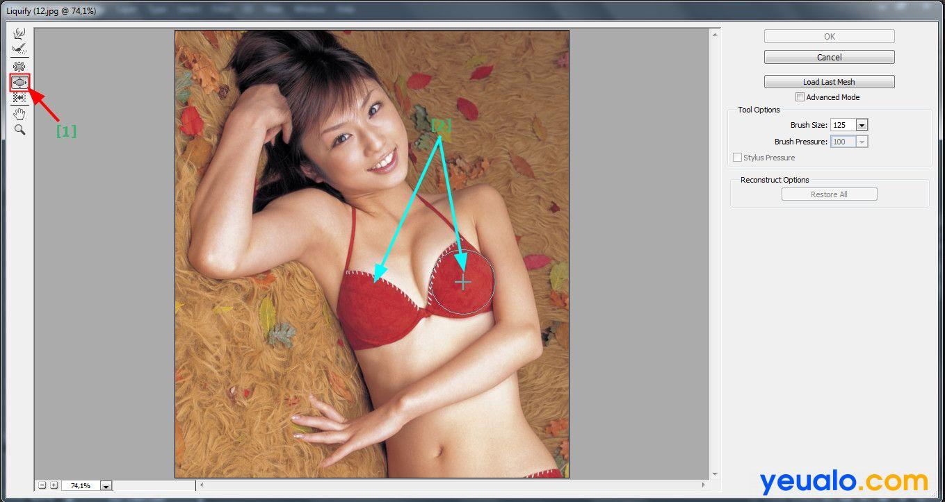 Hướng dẫn tăng kích thước vòng 1 bằng Photoshop 3