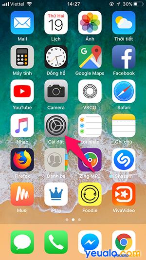 Cách tắt Độ sáng tự động trên iPhone 1