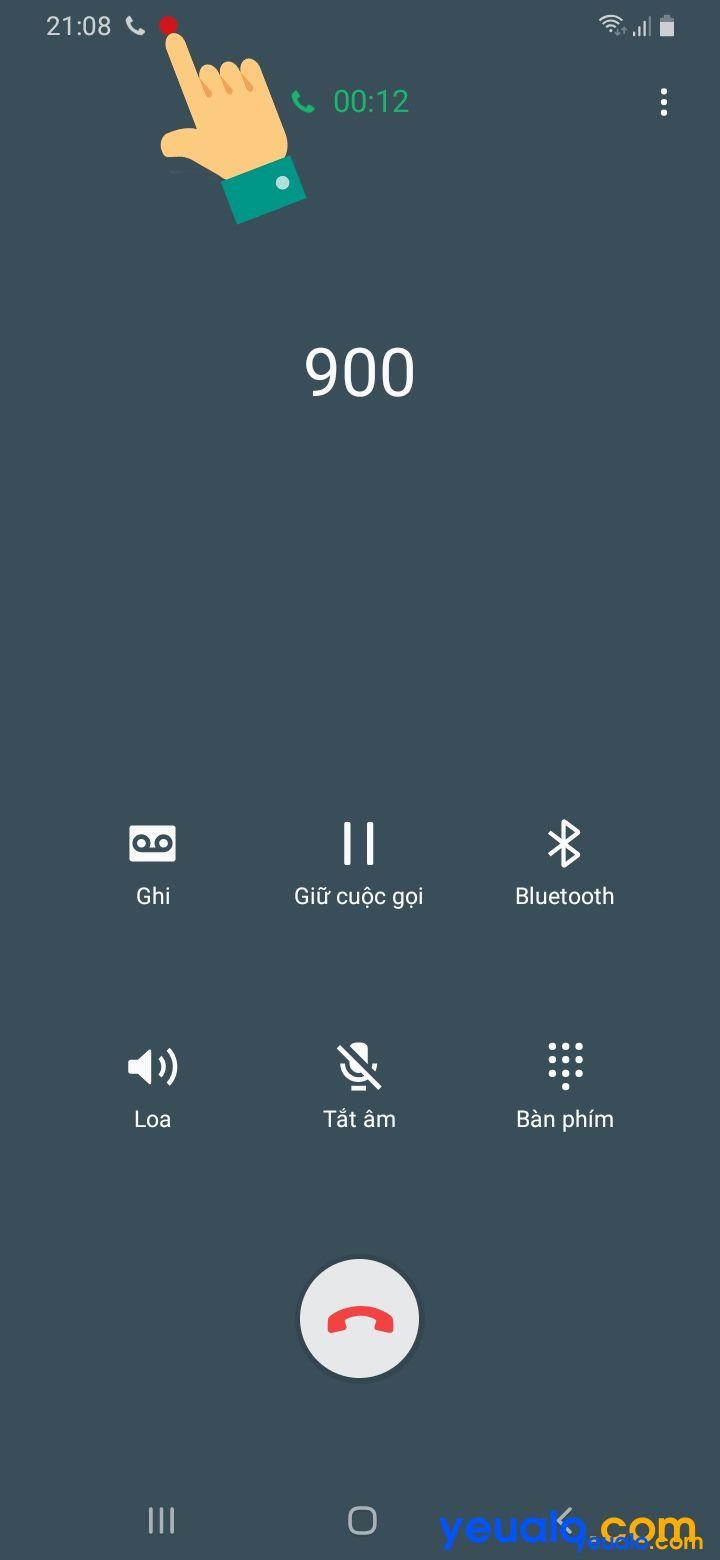 Ứng dụng ghi âm cuộc gọi Samsung 3