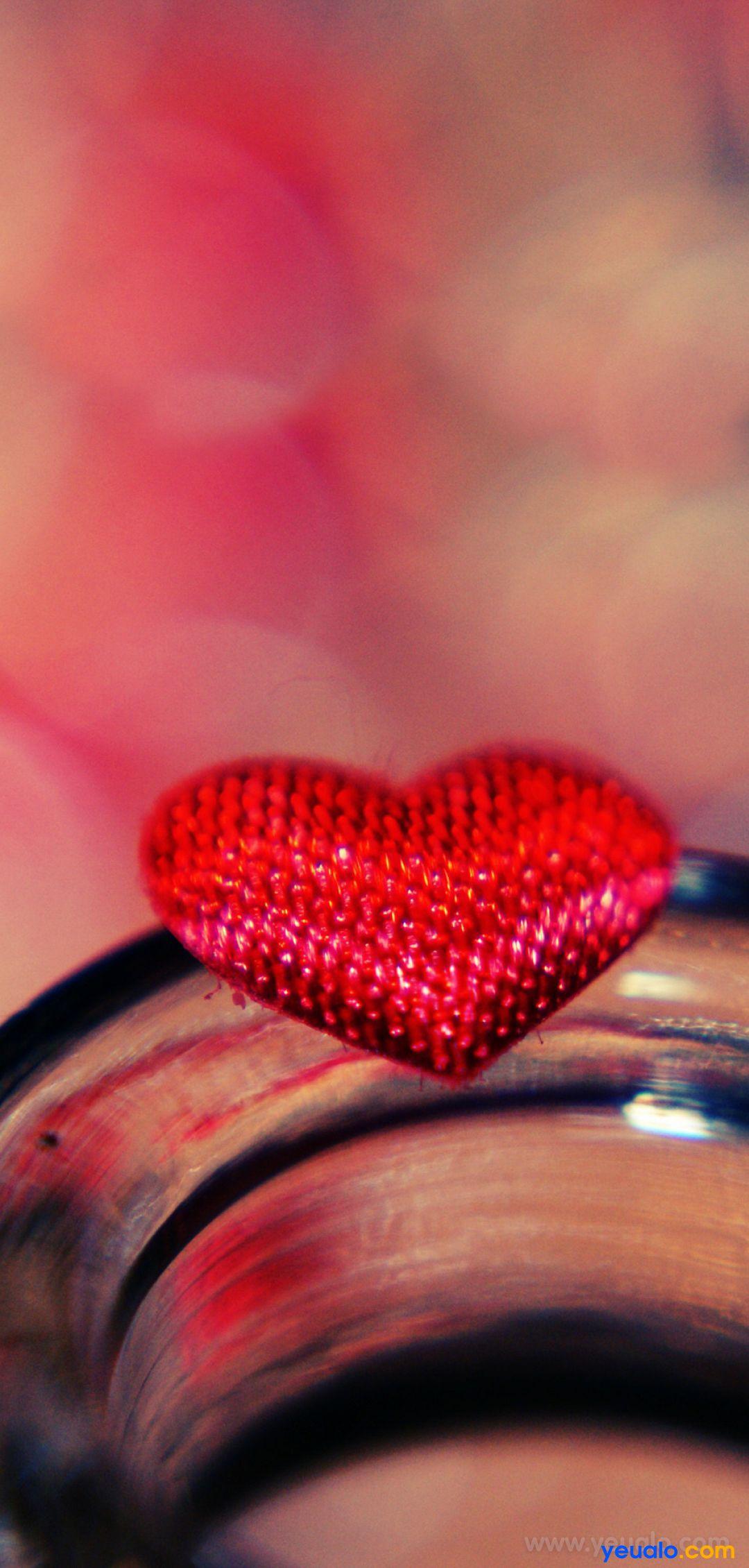 Hình nền trái tim tình yêu đẹp điện thoại Samsung 17