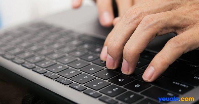 Cách khắc phục bàn phím laptop không gõ được