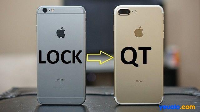 Cách biến iPhone lock thành quốc tế